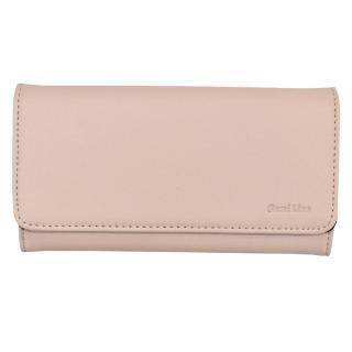 Semiline Womans Wallet 3052-5 dámské Pink 19 cm x 9,5 cm