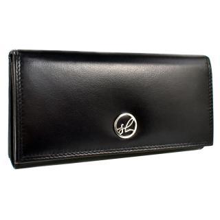 Semiline Womans Wallet P8220-0 dámské Black 17,5 cm x 9,2 cm