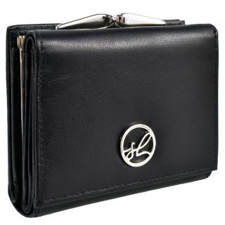 Semiline Womans Wallet P8221-0 dámské Black 10,4 cm x 8,5 cm