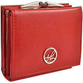 Semiline Womans Wallet P8221-2 dámské Red 10,4 cm x 8,5 cm