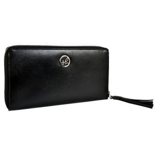 Semiline Womans Wallet P8224-0 dámské Black 19,5 cm x 11 cm