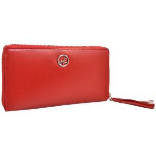 Semiline Womans Wallet P8224-2 dámské Red 19,5 cm x 11 cm
