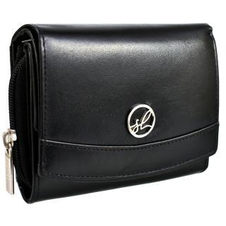 Semiline Womans Wallet P8225-0 dámské Black 12,5 cm x 10 cm