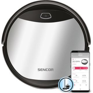 Sencor SRV 4250SL - Nový, pouze rozbaleno - Robotický vysavač a mop 2v1