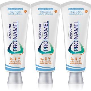 Sensodyne Pronamel White bělicí zubní pasta proti pigmentovým skvrnám 3x75 ml 3x75 ml