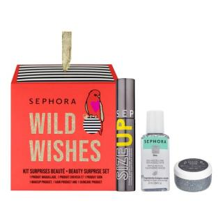 SEPHORA COLLECTION - Kit 3 Wild Wishes Beauty Surprises - Vánoční sada