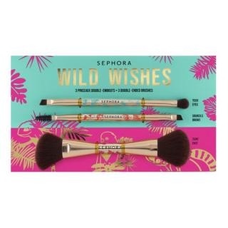 SEPHORA COLLECTION - Wild Wishes 3 Double Ended Brush Kit - Sada štětců