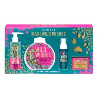SEPHORA COLLECTION - Wild Wishes Body And Bath Kit - Vánoční sada do koupele