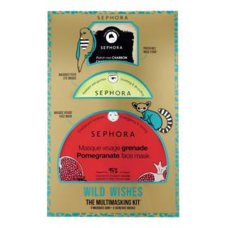 SEPHORA COLLECTION - Wild Wishes Kit Of 3 Facial Masks - Sada masek