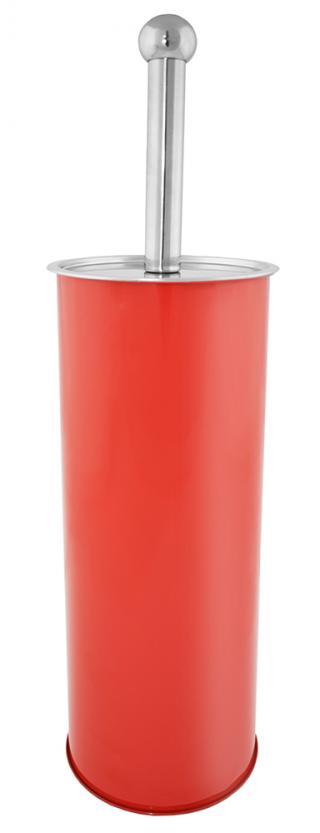 SEPIO WC štětka BRUSH červená 10x10x38 cm
