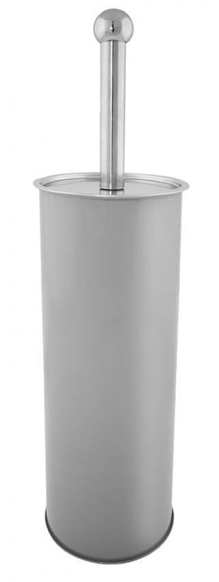 SEPIO WC štětka BRUSH šedá 10x10x38 cm