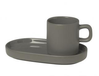 Set hrnečků espresso 2ks šedá
