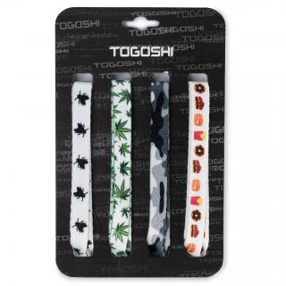 Set tkaniček do bot TOGOSHI - TG-LACES-120-4-MEN-007 Barevná Bílá