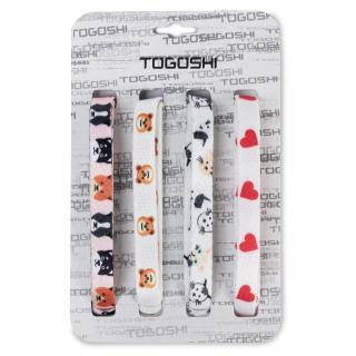 Set tkaniček do bot TOGOSHI - TG-LACES-120-4-WOMEN-005 Barevná Bílá