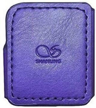Shanling M0 Leather Case Purple Violet