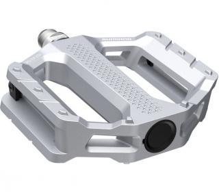 Shimano pedály PD-EF202 Flat pedály stříbrné