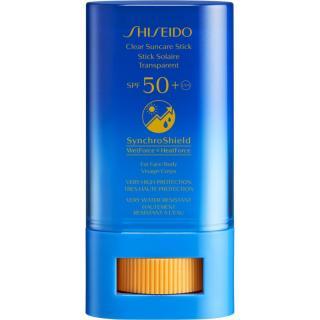 Shiseido Sun Care Clear Stick UV Protector WetForce lokální péče proti slunečnímu záření SPF 50  20 g pánské 20 g