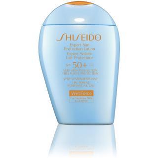 Shiseido Sun Care Expert Sun Protection Lotion WetForce voděodolný krém na opalování SPF 50  100 ml dámské 100 ml