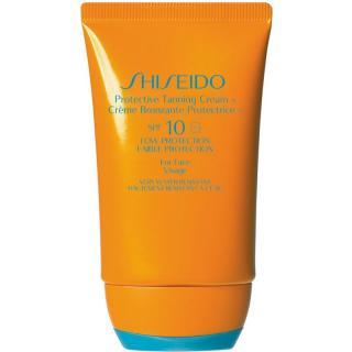 Shiseido Sun Care Protective Tanning Cream opalovací krém na obličej SPF 10 50 ml dámské 50 ml