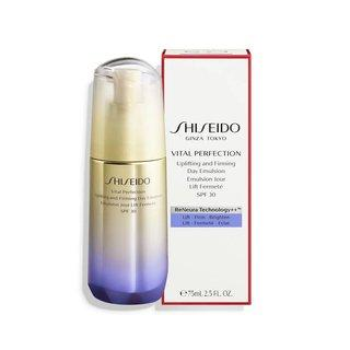 Shiseido Vital Perfection Uplifting & Firming Day Emulsion emulze proti stárnutí pleti 75 ml