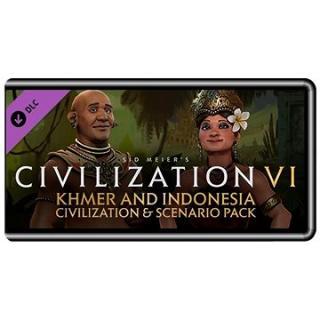 Sid Meiers Civilization VI - Khmer and Indonesia Civilization & Scenario Pack (PC) DIGITAL