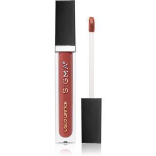 Sigma Beauty Untamed Liquid Lipstick dlouhotrvající matná tekutá rtěnka odstín Dapper 6 g dámské 6 g