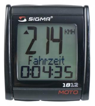Sigma computer CC MOTO 18.12 399km