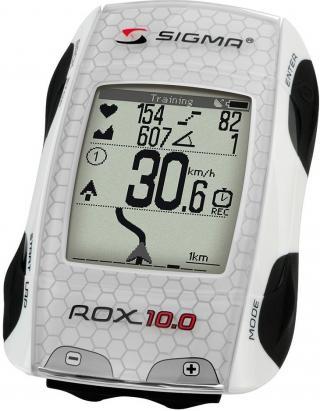 Sigma computer ROX 10.0 GPS set bílá
