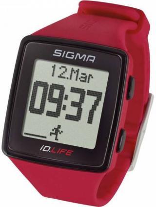 Sigma Pulsmetr iD.LIFE červený 24620 - SLEVA