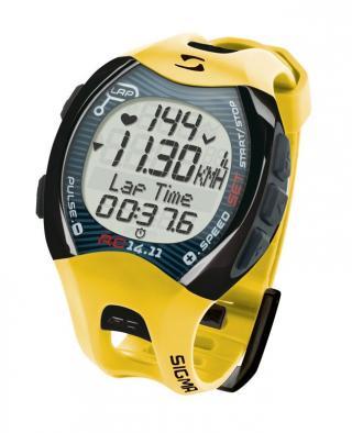 Sigma pulsmetr PC 14.11 2012 žlutý