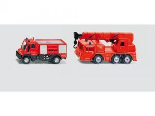 SIKU Blister - 2 hasičská auta