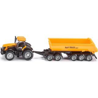 Siku Farmer Traktor se sklápěcím přívěsem 1:87 pánské