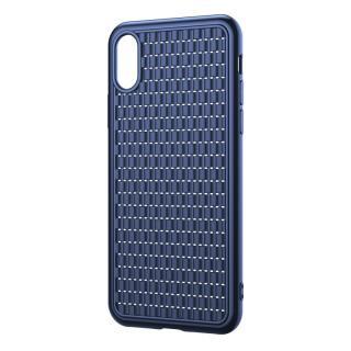 Silikonové pouzdro Baseus BV Case 2nd generation pro Apple iPhone X/XS, modrá
