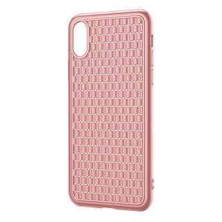 Silikonové pouzdro Baseus BV Case 2nd generation pro Apple iPhone X/XS, růžová