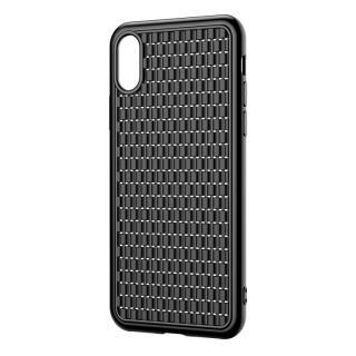 Silikonové pouzdro Baseus BV Case pro Apple iPhone X/XS, černá