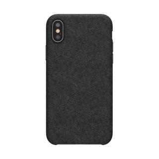 Silikonové pouzdro Baseus Original Super Fiber Case pro Apple iPhone XS Max, černá