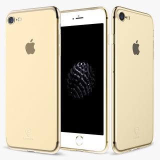 Silikonové pouzdro Baseus Simple Series Case pro Apple iPhone 7/8/SE 2020, transparentní