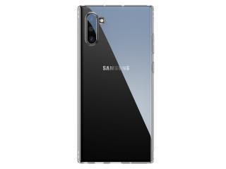 Silikonové pouzdro Baseus Simple Series Case pro Samsung Galaxy Note 10, transparentní