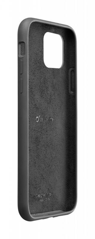 Silikonové pouzdro CellularLine SENSATION pro Apple iPhone 11, černá