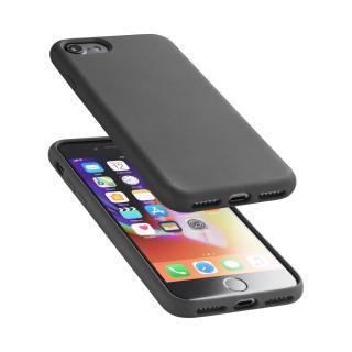 Silikonové pouzdro CellularLine Sensation pro Apple iPhone 7/8 černý