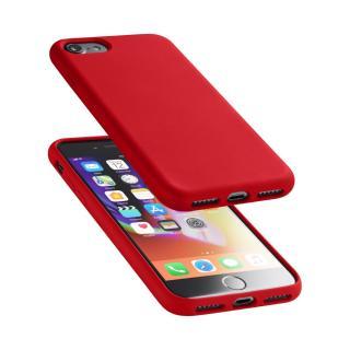 Silikonové pouzdro CellularLine Sensation pro Apple iPhone 7/8 červený