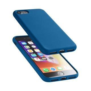 Silikonové pouzdro CellularLine Sensation pro Apple iPhone 7/8 modrý