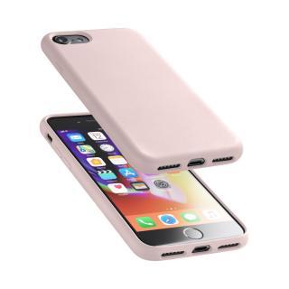 Silikonové pouzdro CellularLine Sensation pro Apple iPhone 7/8 starorůžový
