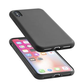 Silikonové pouzdro CellularLine Sensation pro Apple iPhone X černý