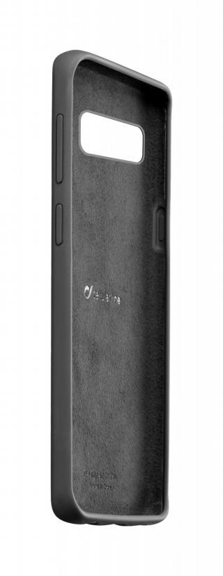 Silikonové pouzdro CellularLine SENSATION pro Samsung Galaxy S10, černá