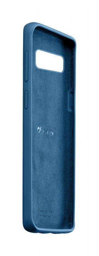 Silikonové pouzdro CellularLine SENSATION pro Samsung Galaxy S10, modrá