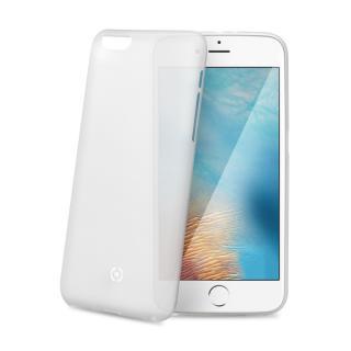 Silikonové pouzdro CELLY Frost pro Apple iPhone 7 Plus, bílé