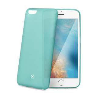 Silikonové pouzdro CELLY Frost pro Apple iPhone 7 Plus, tyrkysové