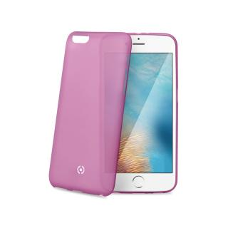 Silikonové pouzdro CELLY Frost pro Apple iPhone 7, růžové