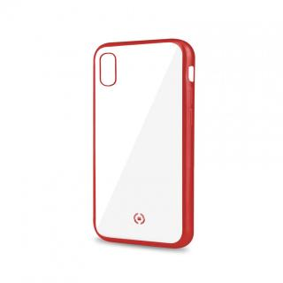 Silikonové pouzdro CELLY Laser pro Apple iPhone XS Max, red